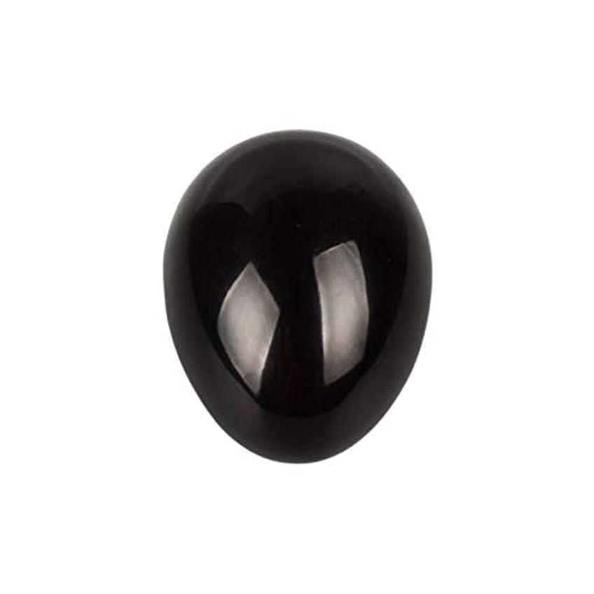 ブリリアントつなぐ間ROSENICE 瞑想チャクラバランスのための黒曜石の卵の球
