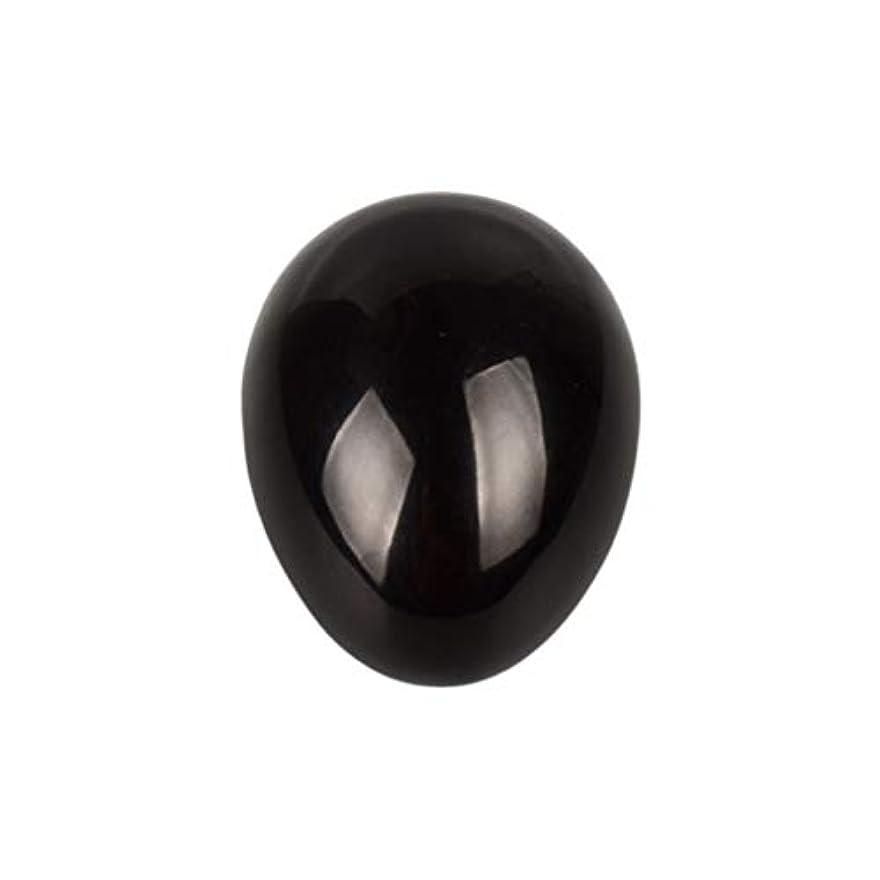 ROSENICE 瞑想チャクラバランスのための黒曜石の卵の球