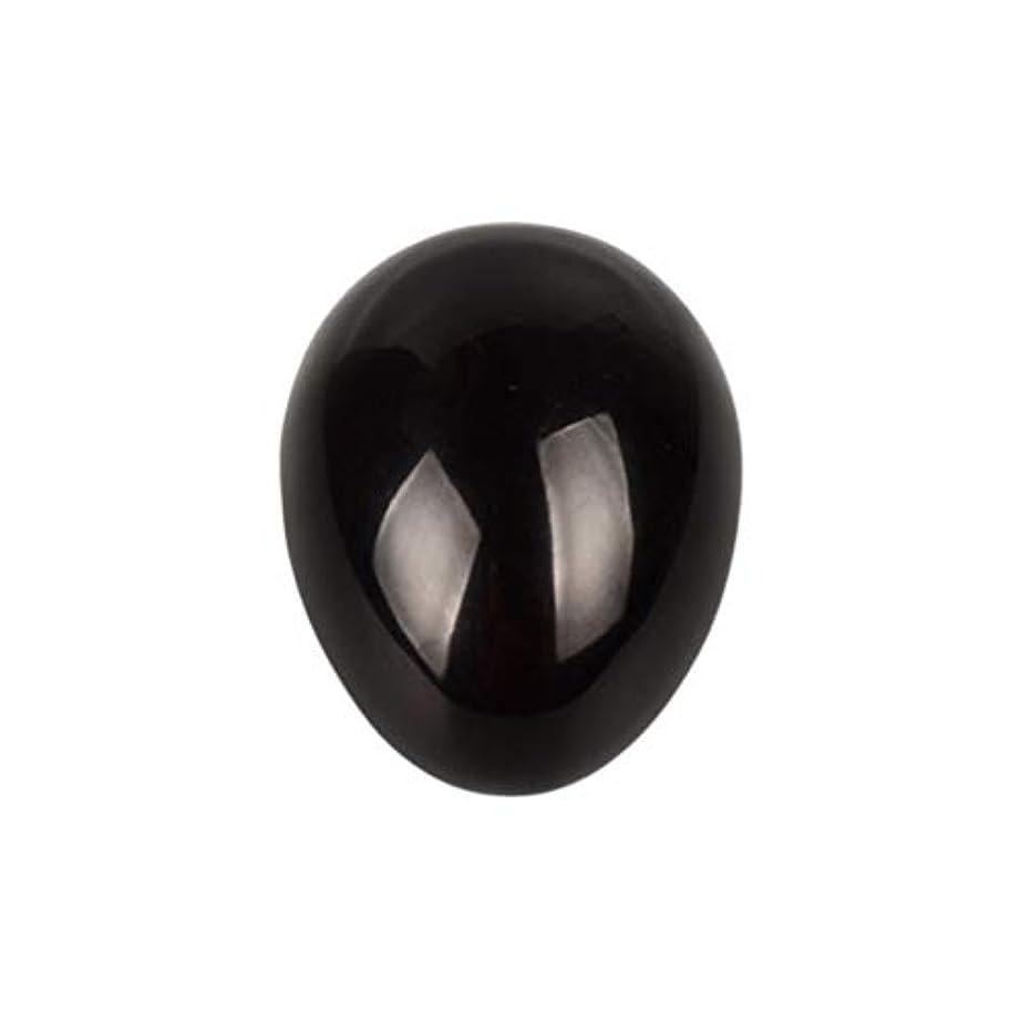 奇跡死ニックネームHEALIFTY 黒曜石の癒し瞑想のための黒曜石の卵球