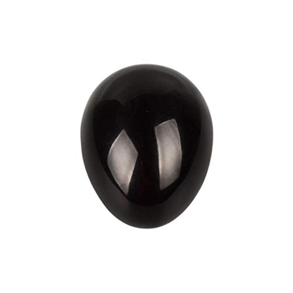テラス権限を与える畝間HEALIFTY 黒曜石の癒し瞑想のための黒曜石の卵球