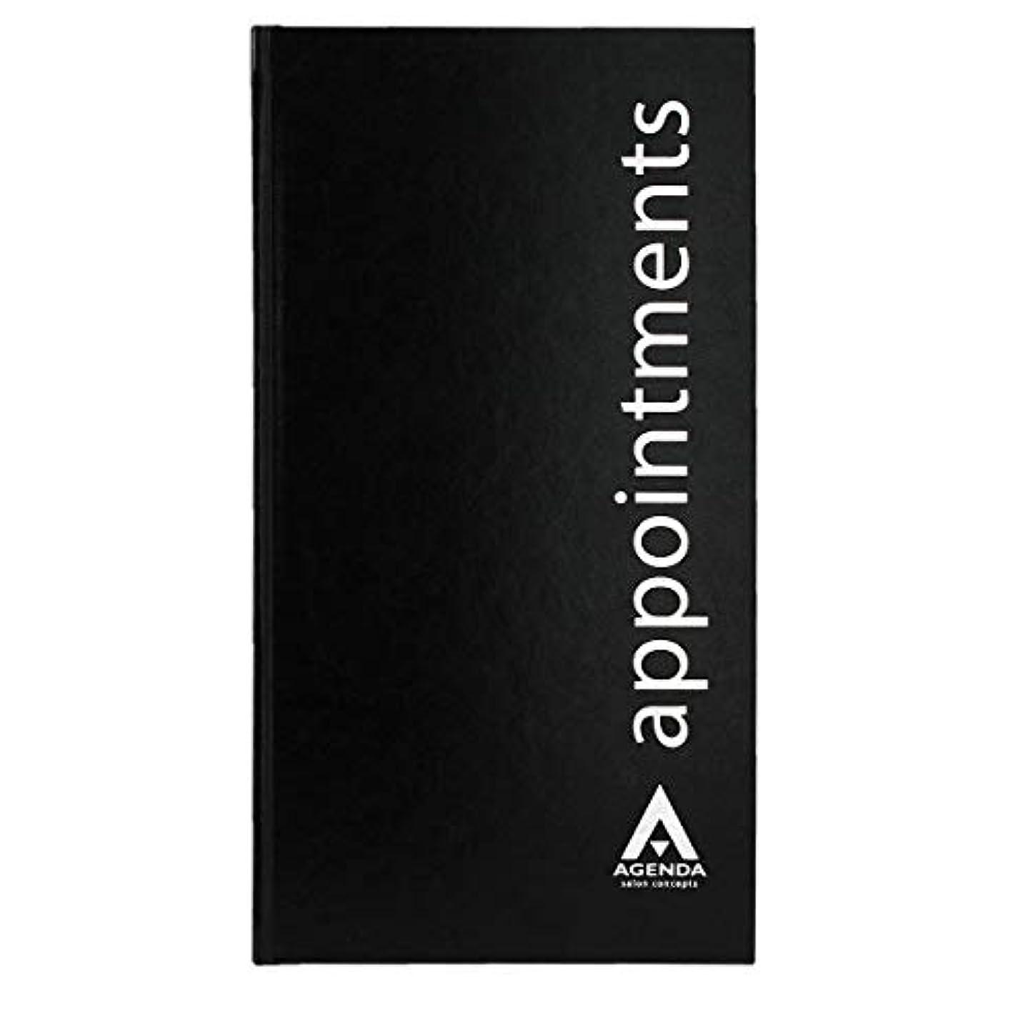 ガチョウ半島エリートアジェンダ サロンコンセプト 美容アポイントメントブック3アシスタントブラック[海外直送品] [並行輸入品]