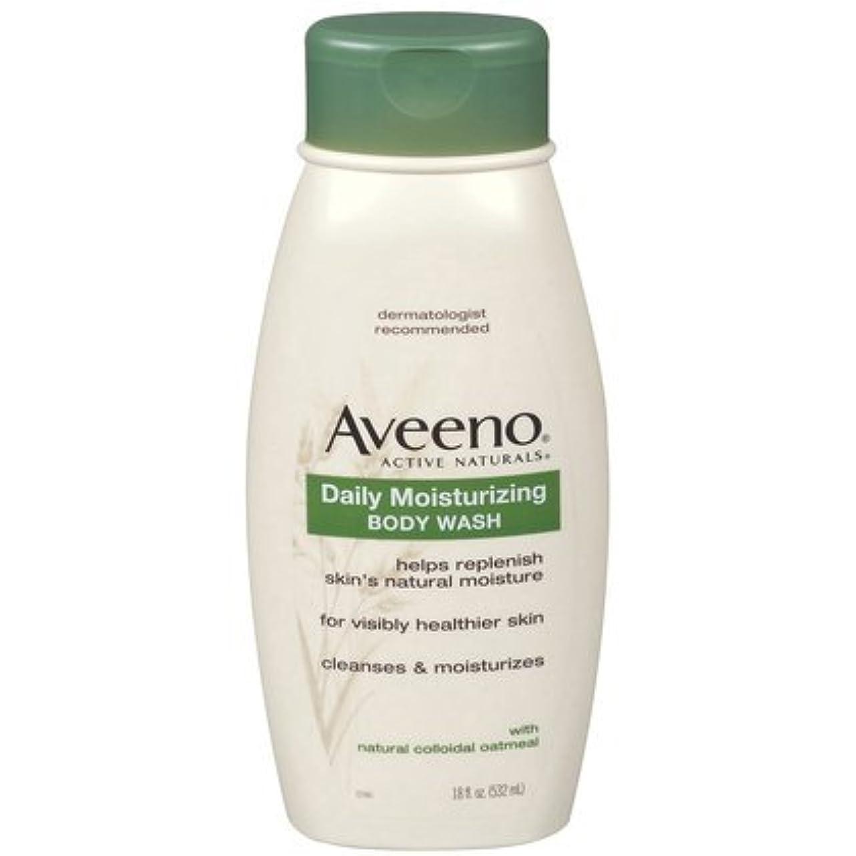 押し下げる対話超音速Aveeno Daily Moisturizing Body Wash - 18 Oz by Aveeno