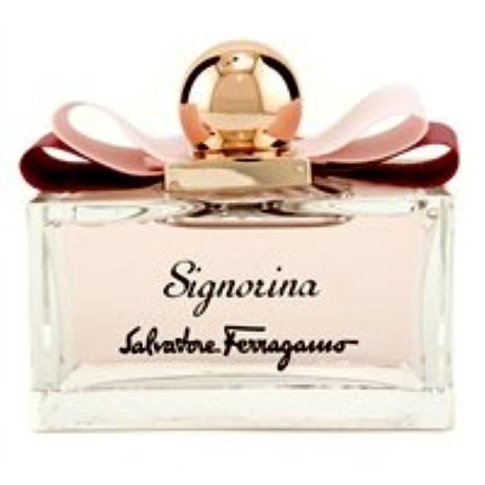 番目美人リーフレットサルヴァトーレフェラガモ シニョリーナオーデパルファムスプレー 100ml