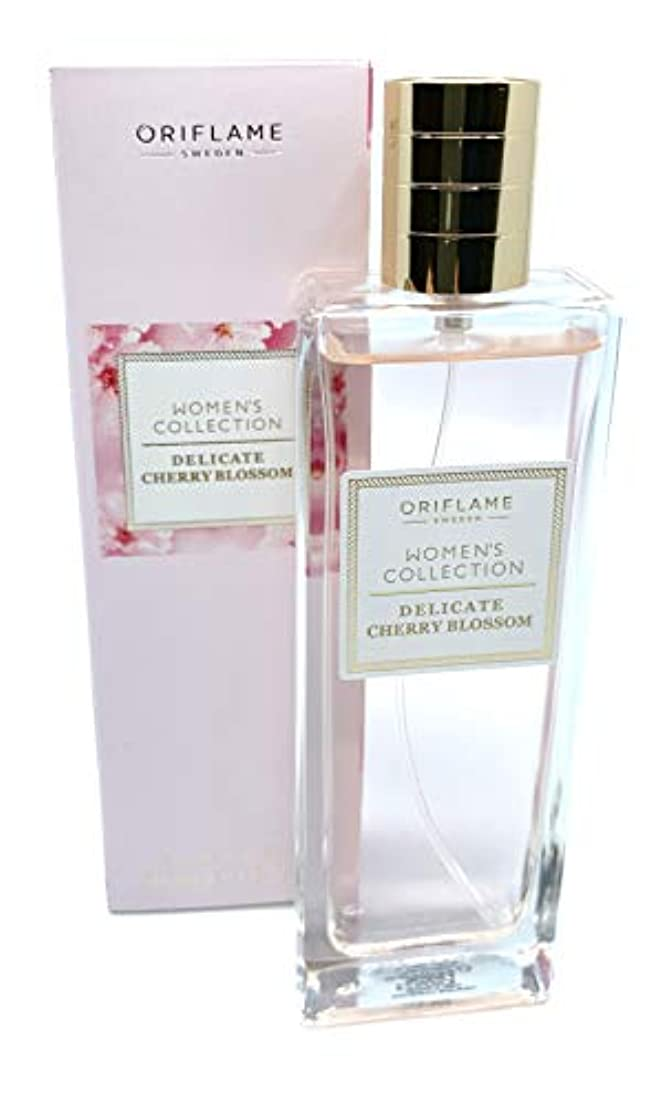 バトル最初はブロンズORIFLAME Women's Collection Delicate Cherry Blossom Eau de Toilette Natural Spray 50ml