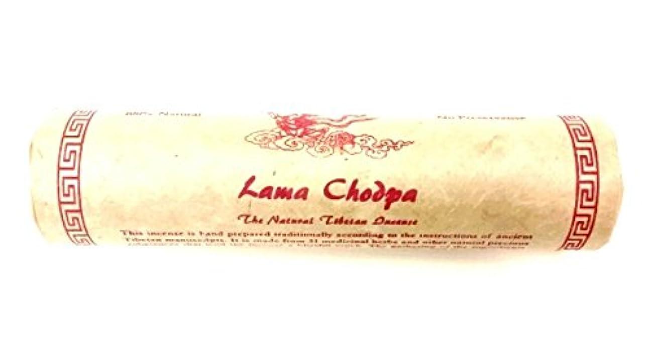 熱狂的な放映ラッチLama Chodpa天然チベットBlessed Incense – 瞑想 Large - 60 Sticks