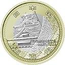 地方自治法施行60周年記念(熊本県)500円 バイカラークラッド貨 熊本城