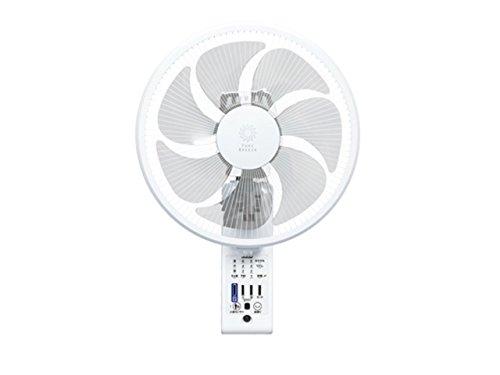 トヨトミ『壁掛け扇風機 FW-S30IR(W)』