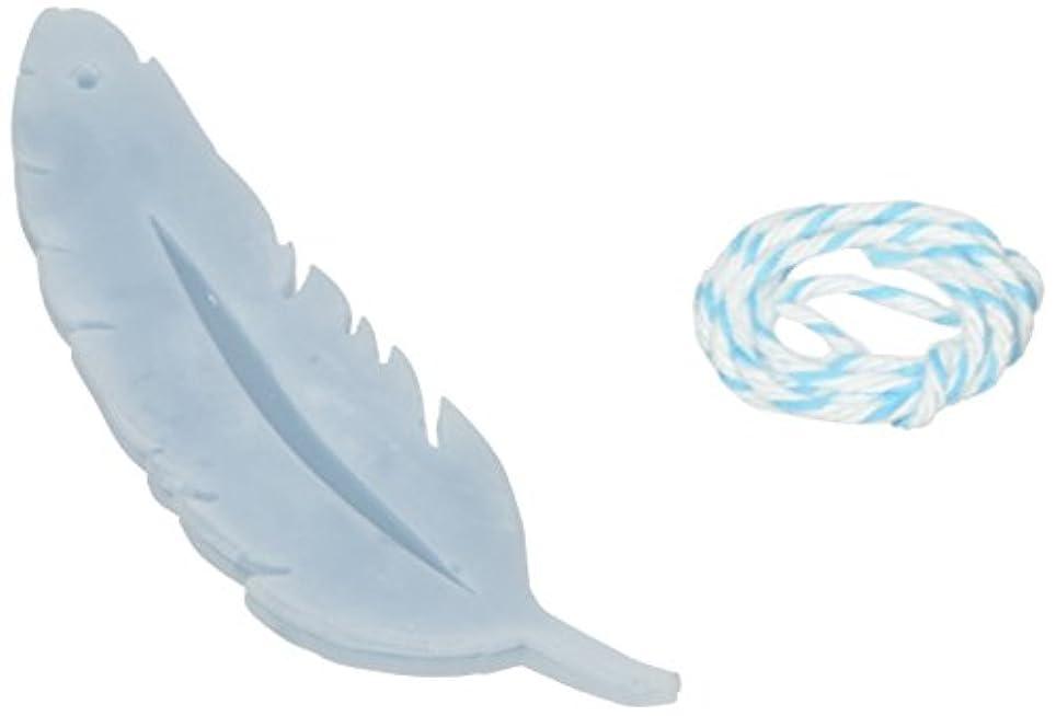 エラー窒息させるデザートGRASSE TOKYO AROMATICWAXチャーム「羽」(BL) ローズマリー アロマティックワックス グラーストウキョウ