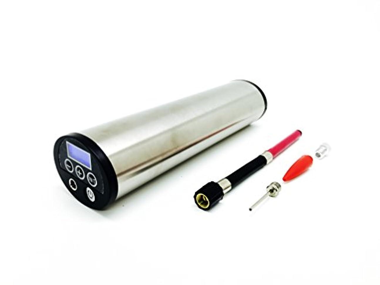 昼寝自由著作権イーアンドケー(Eandk) ポータブルエアーポンプ 充電式 シルバー AX01S シルバー