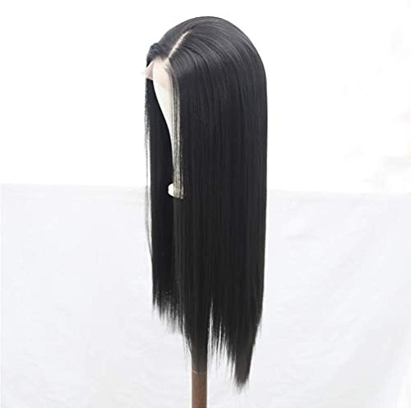 カートン赤外線聖域女性かつら150%密度フロントレースブラジルカーリーかつら合成繊維耐熱高品質かつら