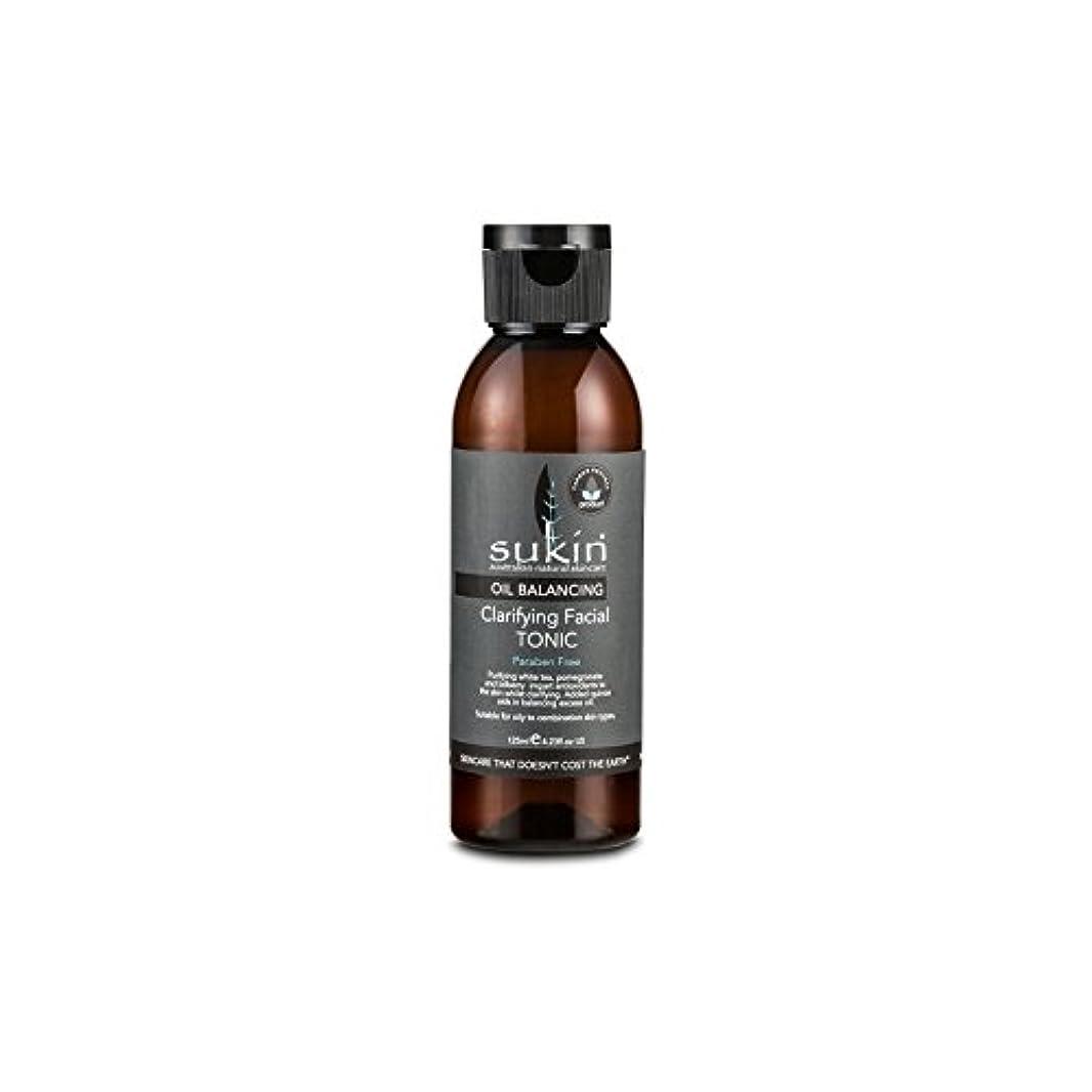 連鎖モディッシュ気候フェイシャルトニック125ミリリットルを明確オイルバランシング x4 - Sukin Oil Balancing Clarifying Facial Tonic 125ml (Pack of 4) [並行輸入品]