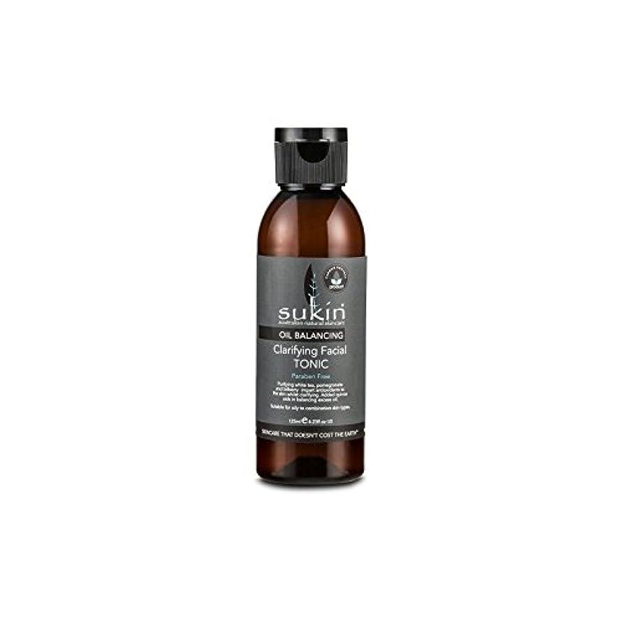 良心ホバート火傷フェイシャルトニック125ミリリットルを明確オイルバランシング x2 - Sukin Oil Balancing Clarifying Facial Tonic 125ml (Pack of 2) [並行輸入品]