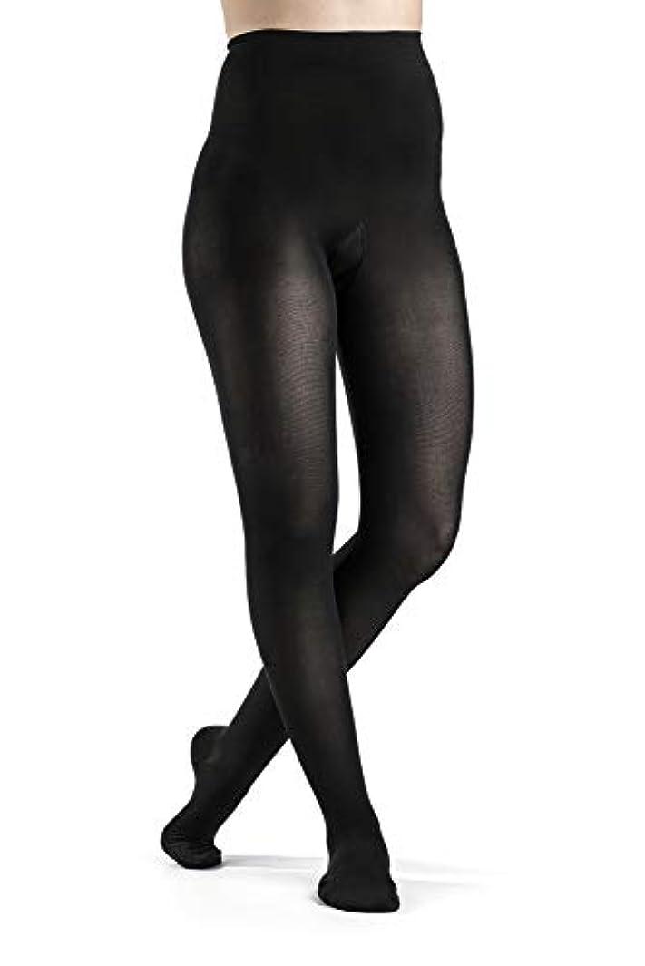国民ガウン半導体Sigvaris Soft Opaque 842PLLW99 20-30 mmHg Womens Closed Toe Panty, Black, Large-Long by Sigvaris