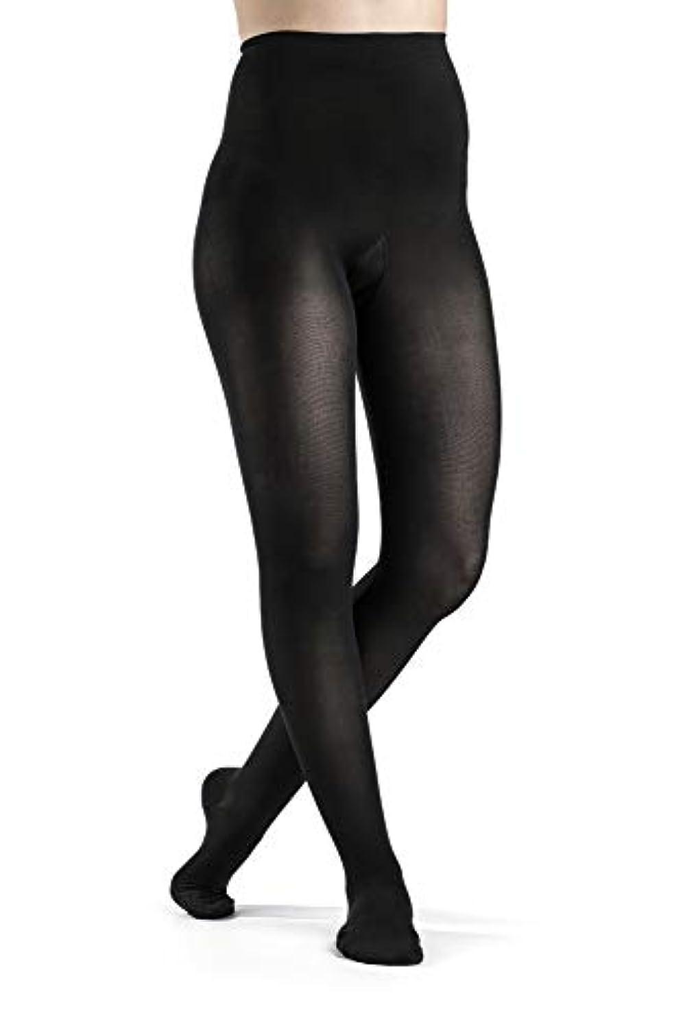 なくなる添付わなSigvaris 841P Soft Opaque 15-20 mmHg Closed Toe Pantyhose Size: Small Short (SS), Color: Black 99 by Sigvaris
