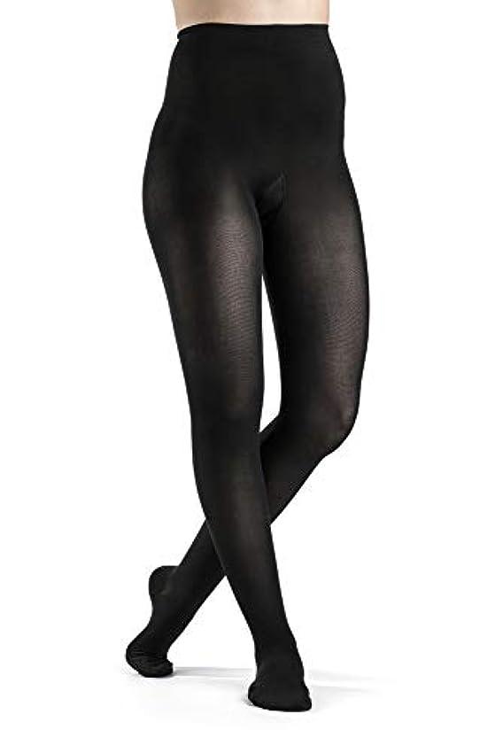 ハグ差し引くマチュピチュSigvaris 841P Soft Opaque 15-20 mmHg Closed Toe Pantyhose Color: Black 99, Size: Medium Long (ML) by Sigvaris