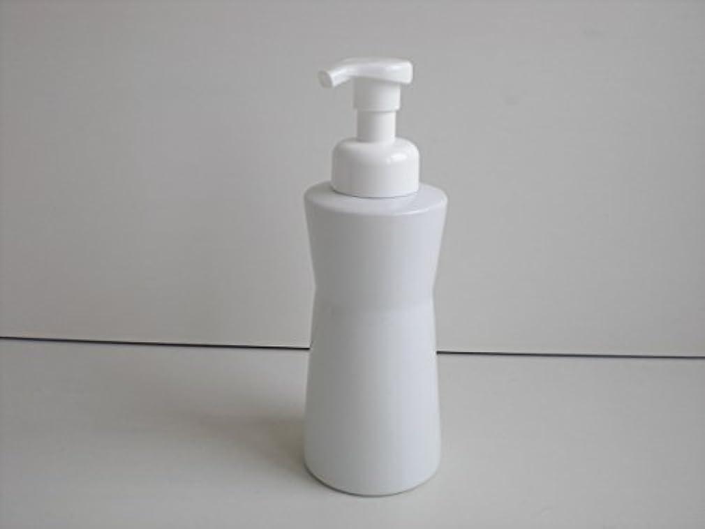 合体過ち囲む泡ポンプ 泡ボディ ホワイトガーデンムースボディポンプ  500ml 白磁器