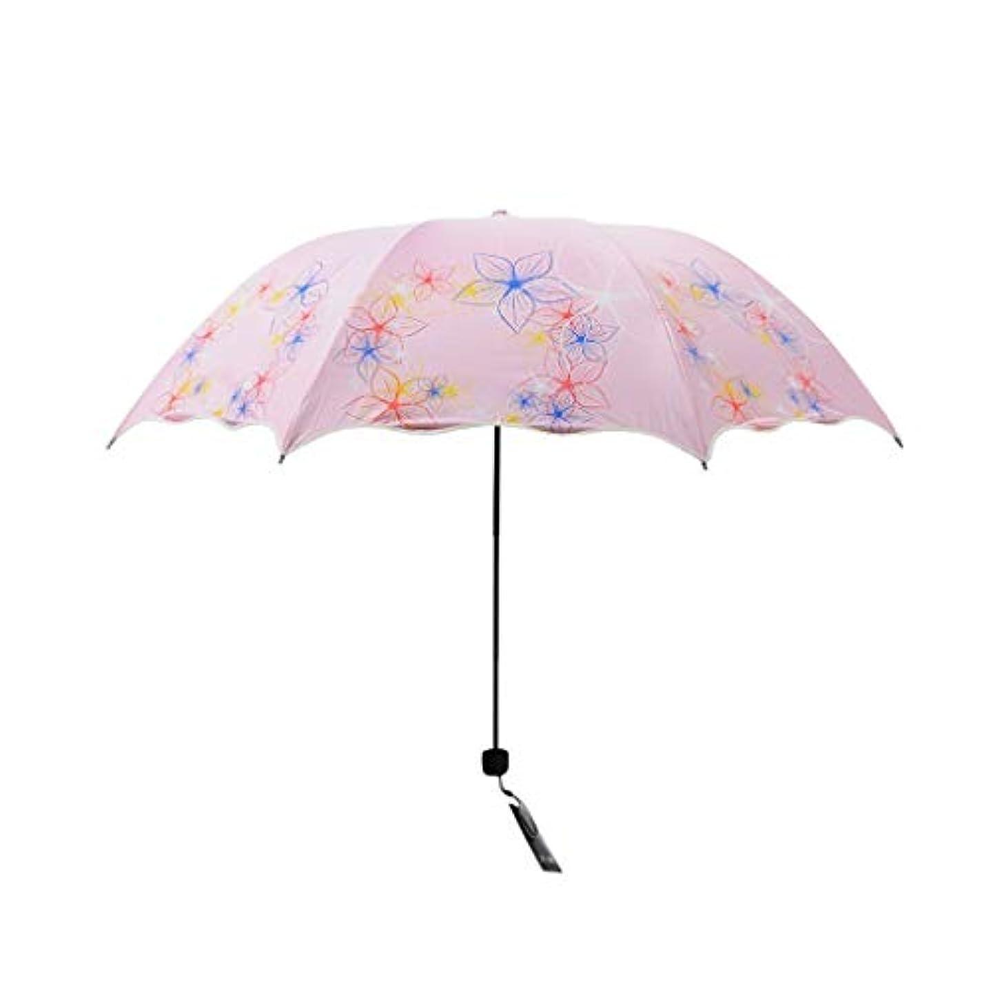スプリット発火するアヒルPy 傘ミニコンパクト日焼け止め抗UV傘デュアルユース折りたたみ傘小さな新鮮な