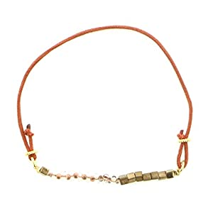 [トロカール] TROCAR TROCAR Bracelet Collection ブレスレット ビーズmix オレンジ 070040-11