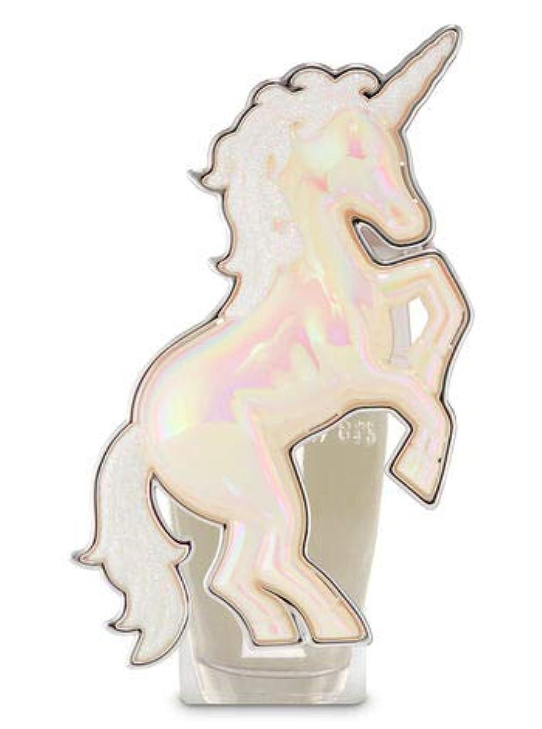 くしゃみ一口容疑者【Bath&Body Works/バス&ボディワークス】 ルームフレグランス プラグインスターター (本体のみ) ユニコーン ナイトライト Wallflowers Fragrance Plug Unicorn Night...