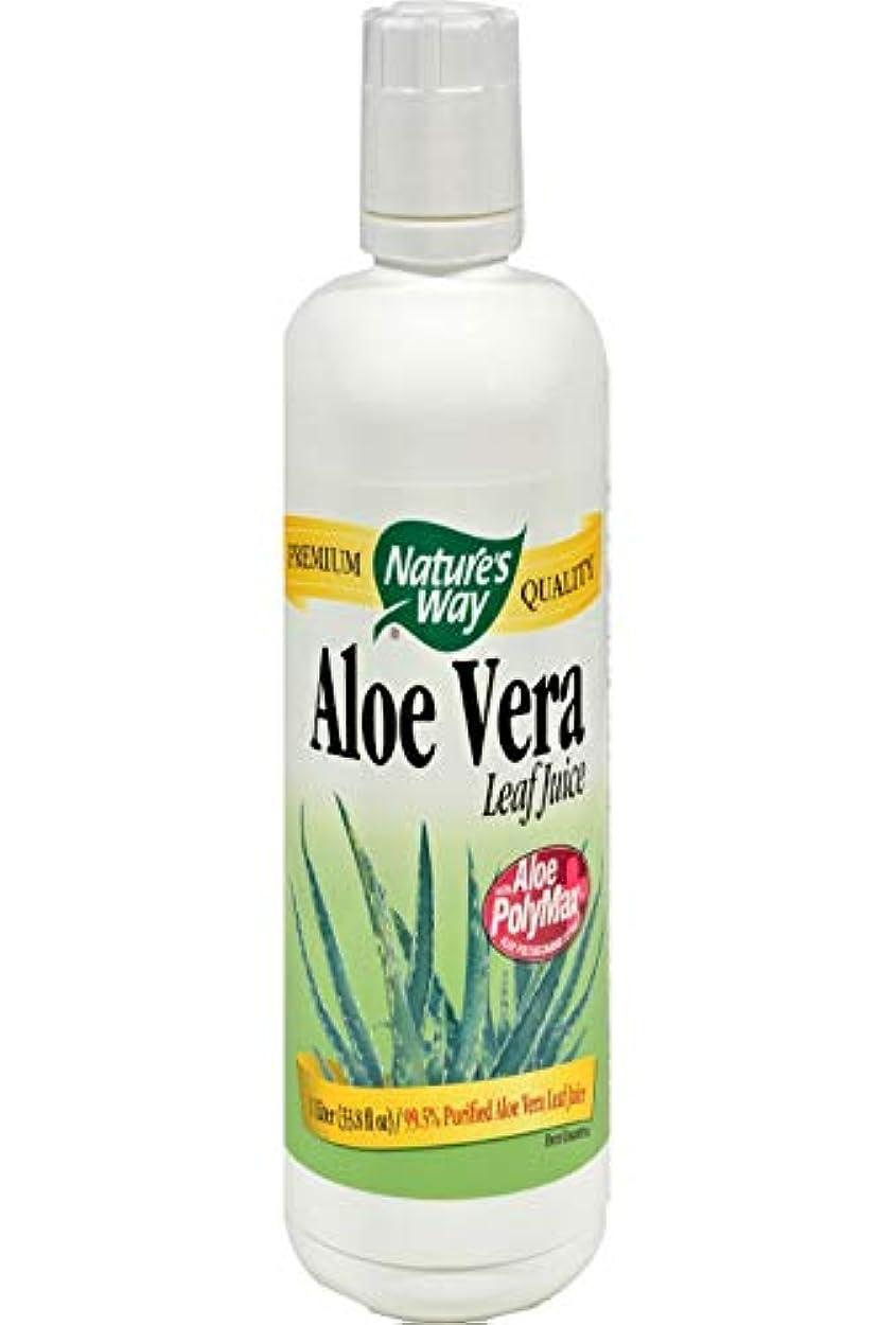 どれか首謀者練習したAloe Vera Leaf Juice 1 Liter Liquid (海外直送品)