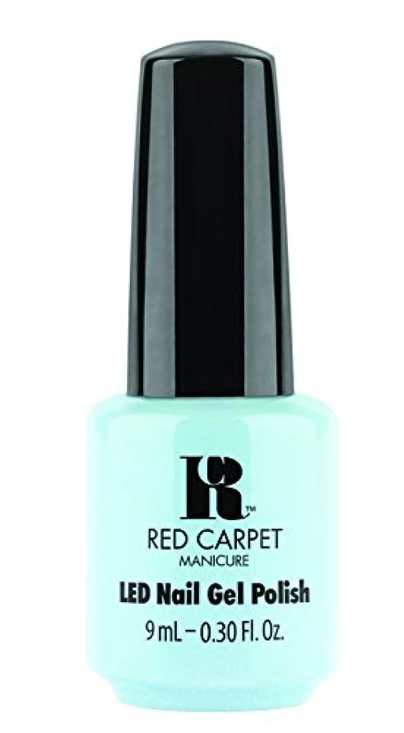 既婚サワー入植者Red Carpet Manicure - LED Nail Gel Polish - Sea Cloud Cruise - 0.3oz/9ml