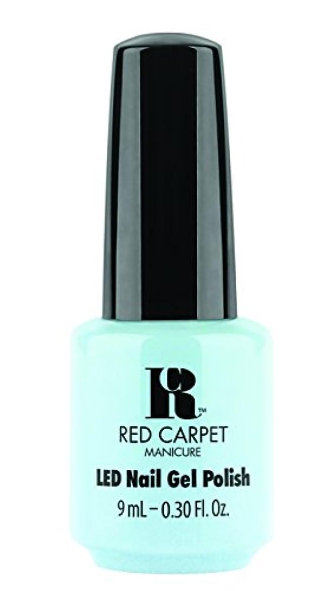 しわ許容酸Red Carpet Manicure - LED Nail Gel Polish - Sea Cloud Cruise - 0.3oz/9ml