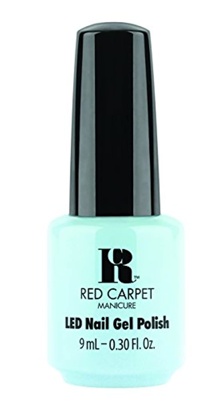 明確なピアース盟主Red Carpet Manicure - LED Nail Gel Polish - Sea Cloud Cruise - 0.3oz/9ml