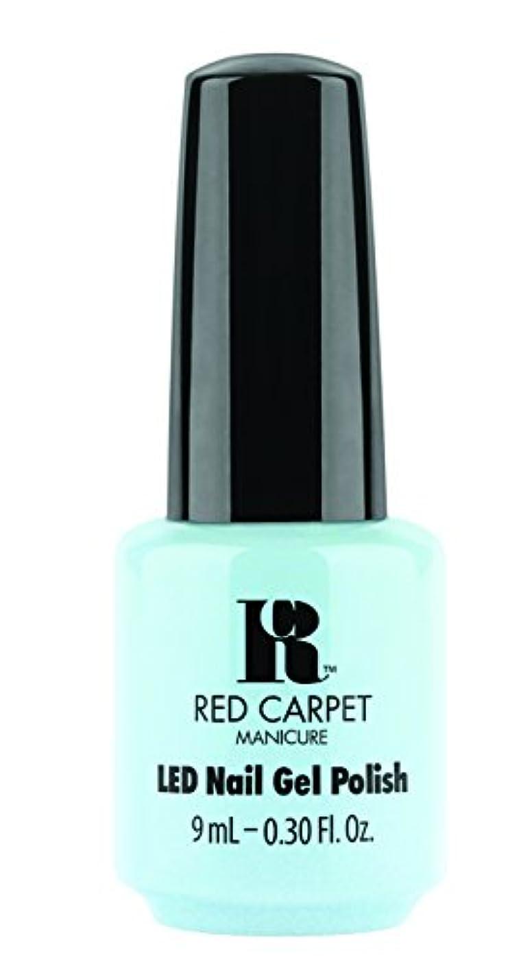 物思いにふけるソース地獄Red Carpet Manicure - LED Nail Gel Polish - Sea Cloud Cruise - 0.3oz/9ml