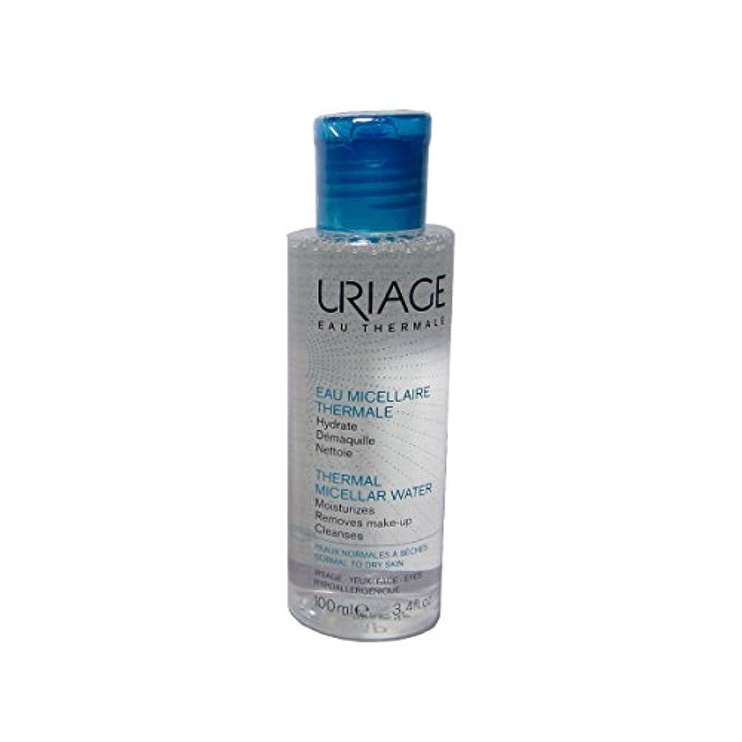 に沿って仮定、想定。推測ナイロンUriage Thermal Micellar Water Normal To Dry Skin 100ml [並行輸入品]