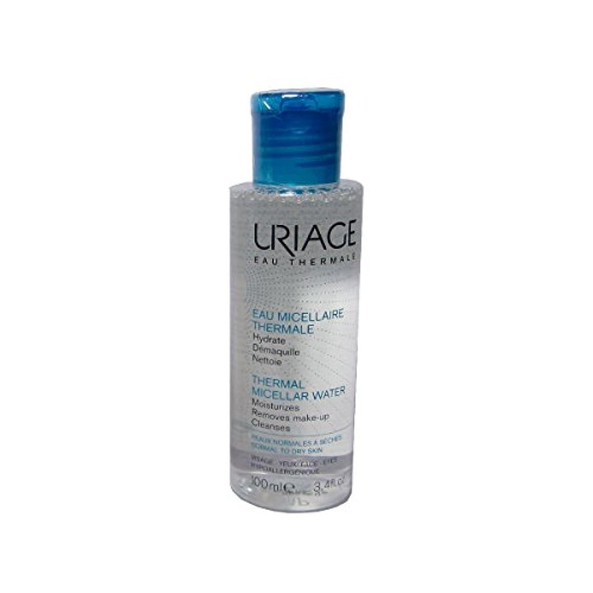 おおとなしいアマチュアUriage Thermal Micellar Water Normal To Dry Skin 100ml [並行輸入品]