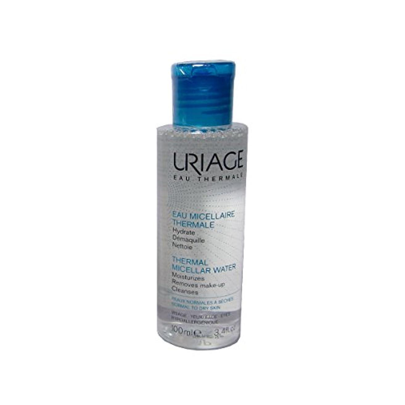 民主党単語変装したUriage Thermal Micellar Water Normal To Dry Skin 100ml [並行輸入品]