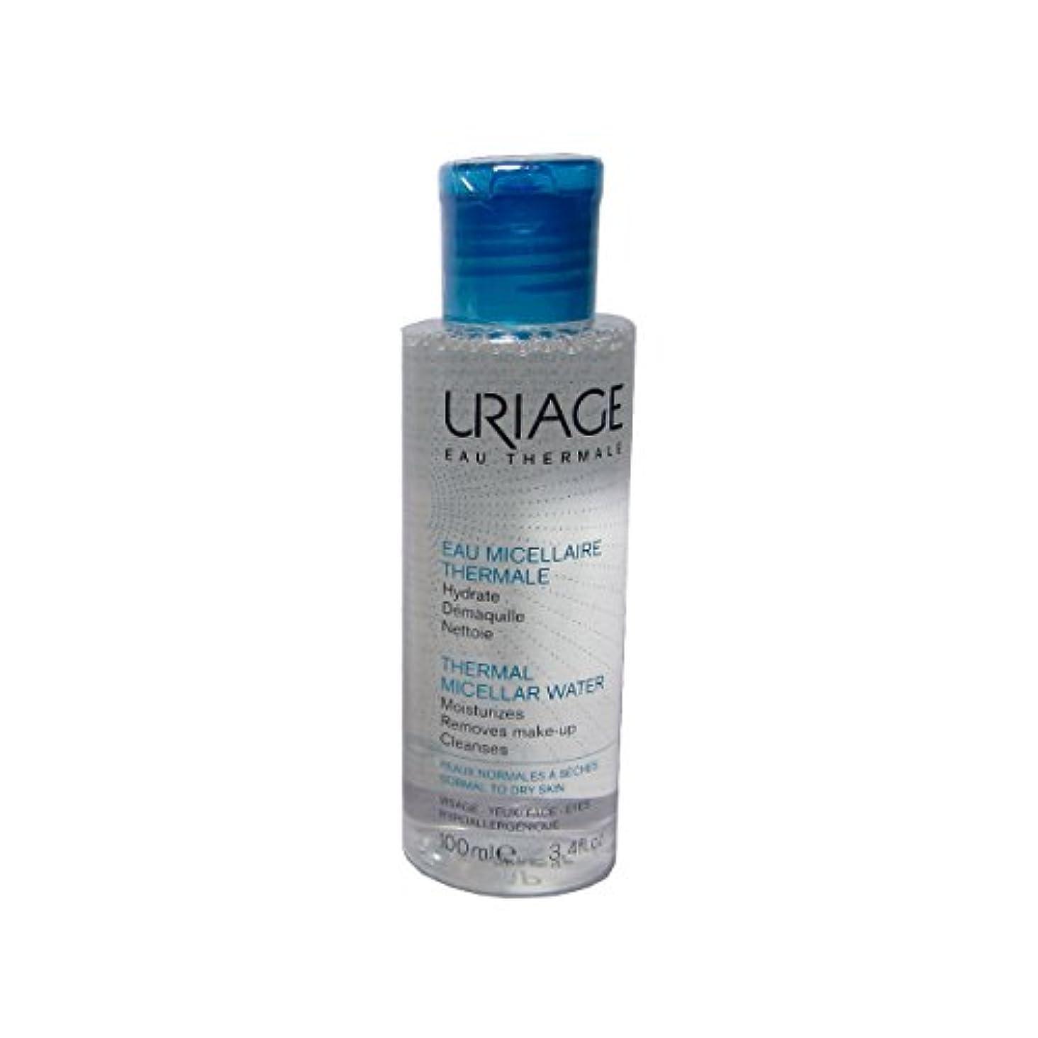 のど走る許容Uriage Thermal Micellar Water Normal To Dry Skin 100ml [並行輸入品]