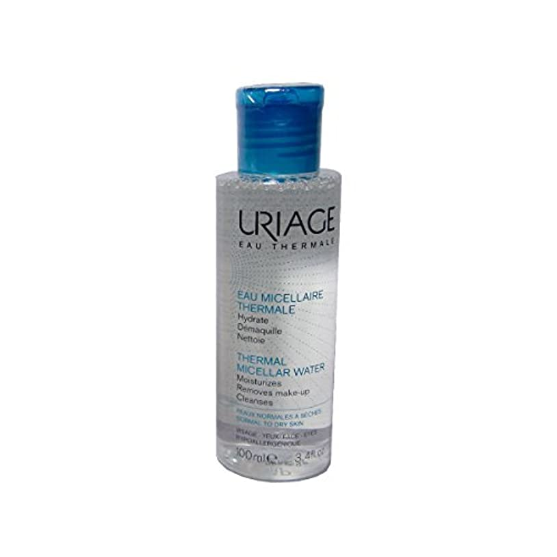 クローン夫ちらつきUriage Thermal Micellar Water Normal To Dry Skin 100ml [並行輸入品]