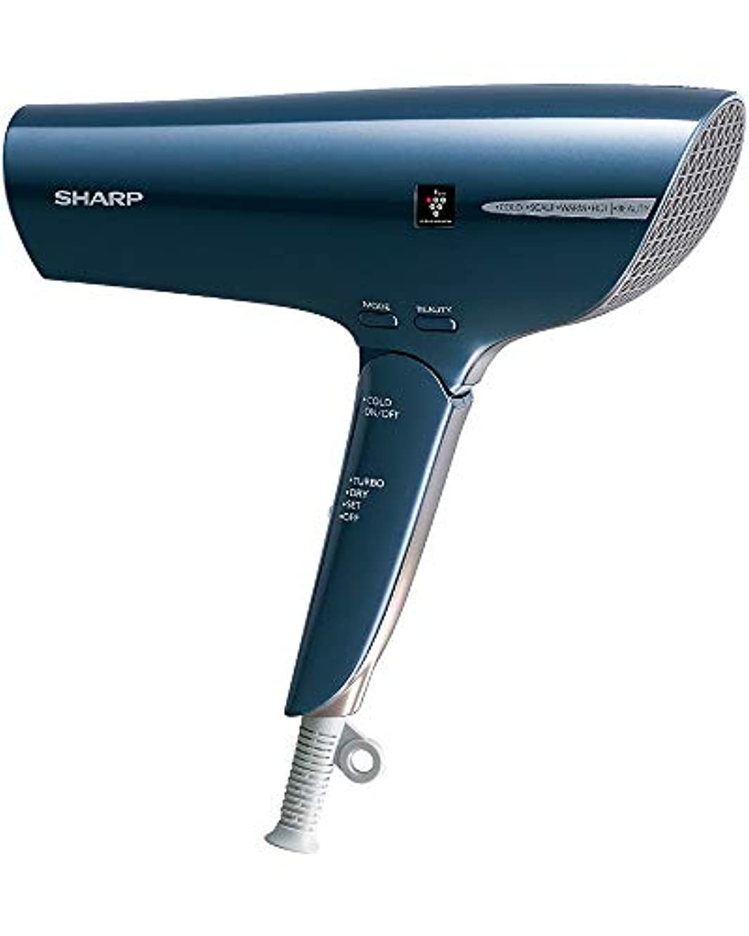 浴室来て写真シャープ ヘアドライヤー プラズマクラスター 搭載  ブルー IB-JP9-A