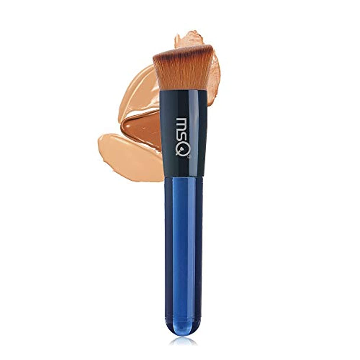 詩人刃装置MSQ 化粧ブラシ 人気 メイクブラシ メイクアップブラシ 粧ブラシ 可愛い 化粧筆 肌に優しい ファンデーシ (ファンデーションブラシ)