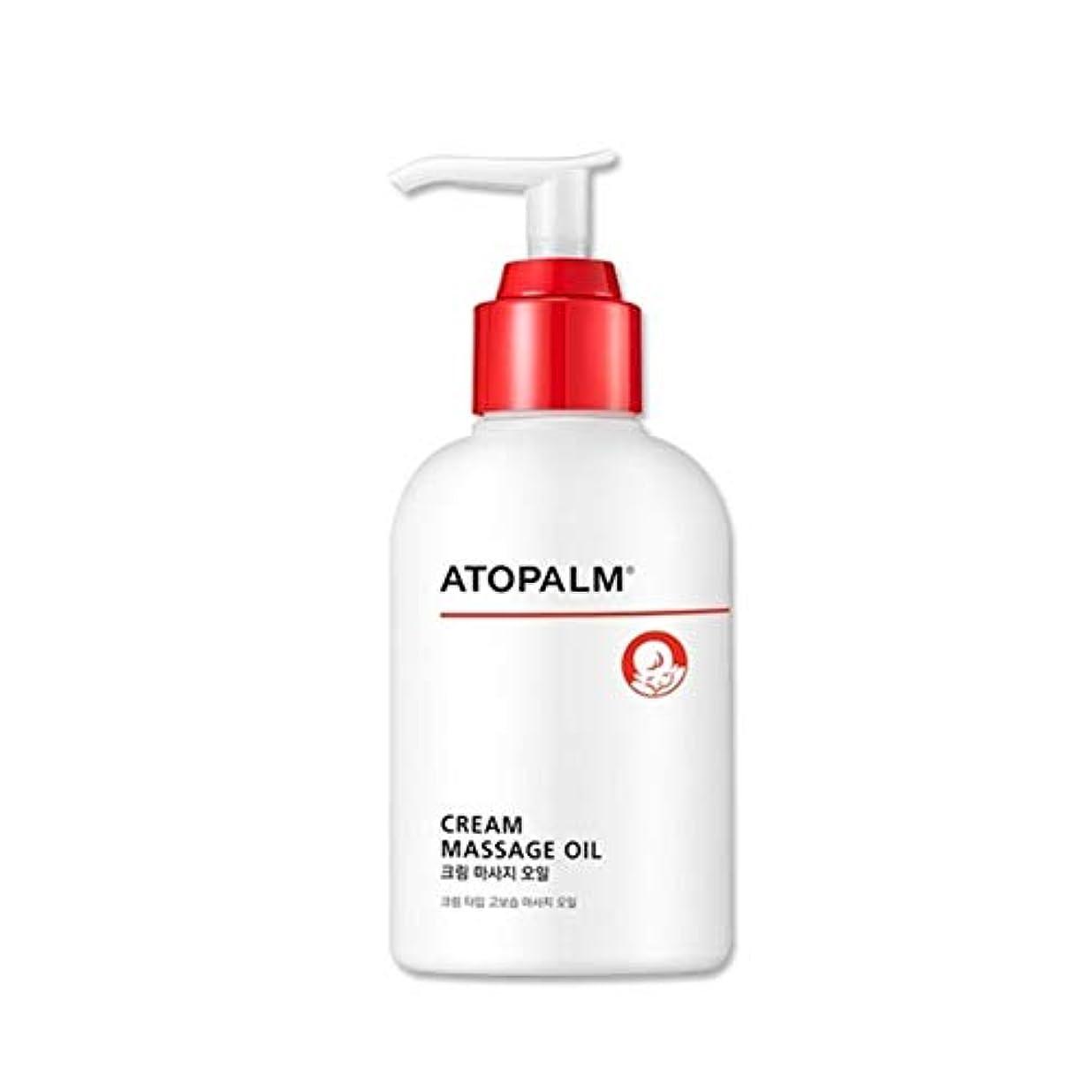 公ピース粘性のアトパムクリームマッサージオイル200ml韓国コスメ、Atopalm Cream Massage Oil 200ml Korean Cosmetics [並行輸入品]