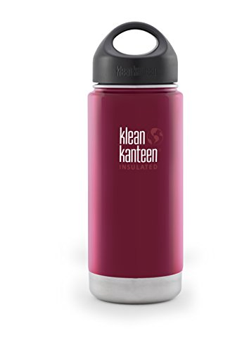 Klean Kanteen(クリーンカンティーン) ワイドインスレート ボトル 16oz ローストペッパー 19320012204016