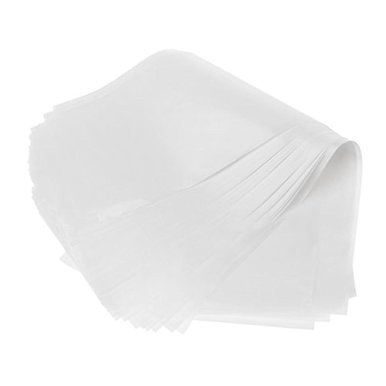 絞る留まるオフセット約50枚 2仕様選べ 髪染め用 毛染め ハイライトシート 再利用可能 分離 紙 ハイライト ヘアカラー 自宅 DIY 使用やすい - ホワイト