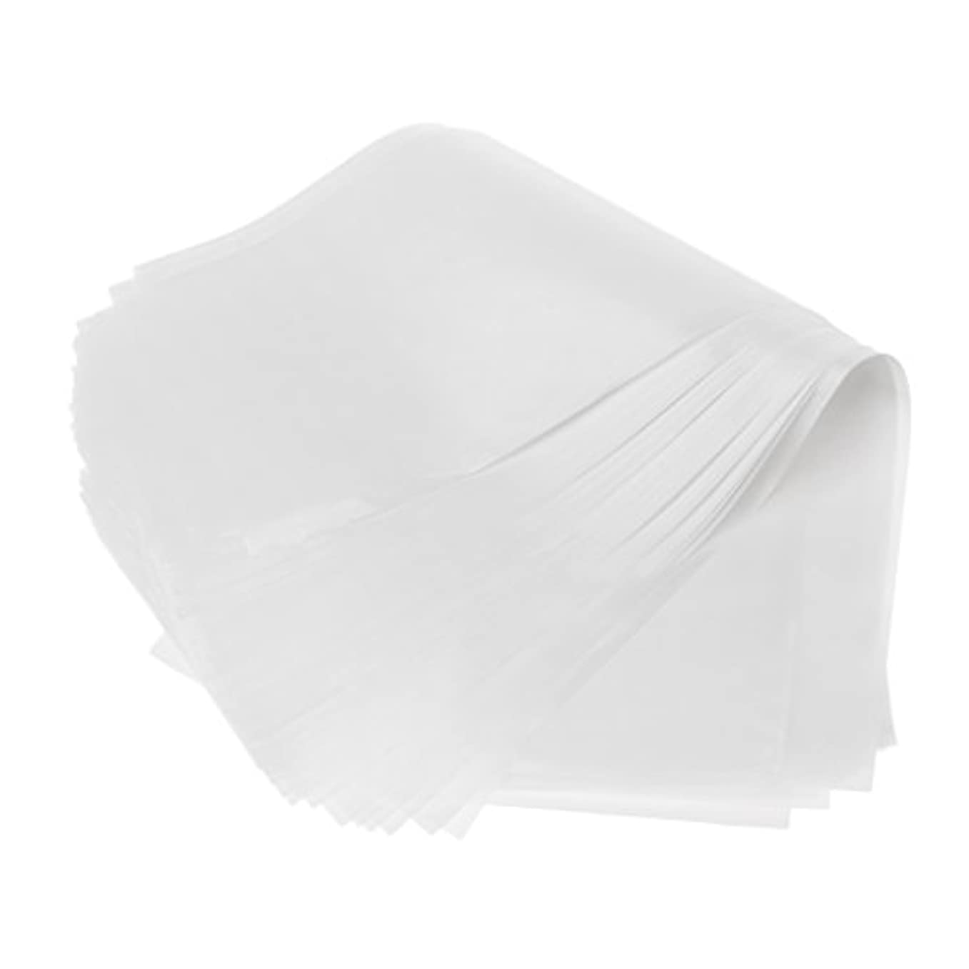 放つの間でふける約50枚 2仕様選べ 髪染め用 毛染め ハイライトシート 再利用可能 分離 紙 ハイライト ヘアカラー 自宅 DIY 使用やすい - ホワイト
