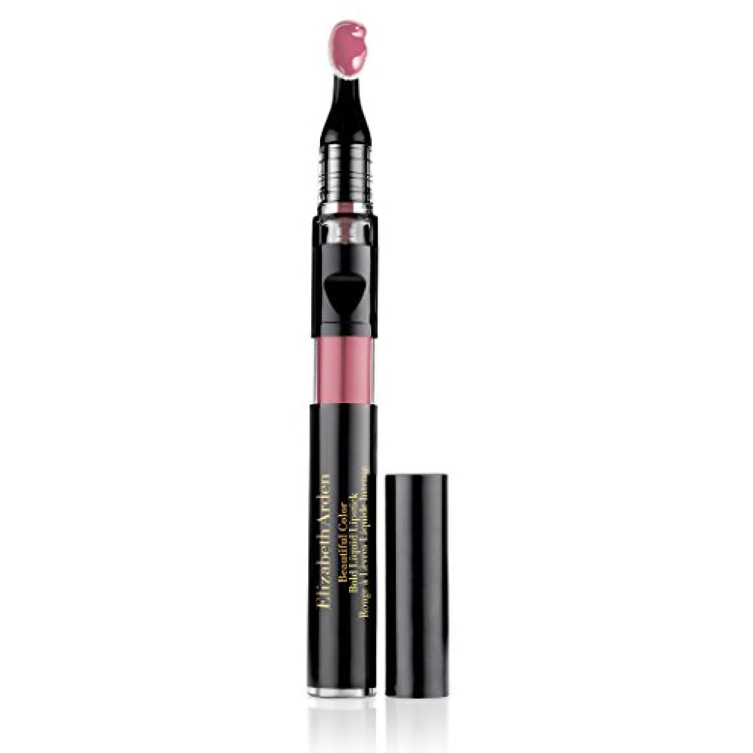 勝者にやにや強化エリザベスアーデン Beautiful Color Bold Liquid Lipstick - # 02 Daring Beige 2.4ml/0.08oz並行輸入品