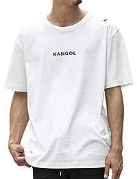 (エーエスエム) A.S.M メンズ Tシャツ WEB限定 A.S.M × KANGOL コラボ 限定 オリジナル 別注 KANGOL ロゴ 刺繍 プリント クルーネック 半袖 Tシャツ 02-66-9810