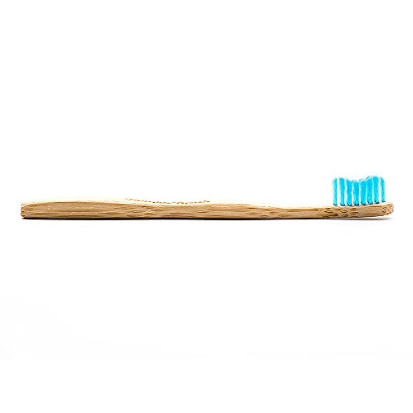 を必要としています課す戦いTHE HUMBLE CO.(ザ?ハンブル?コー) HUMBLE BRUSH(ハンブルブラッシュ) 歯ブラシ キッズ ブルー 15cm