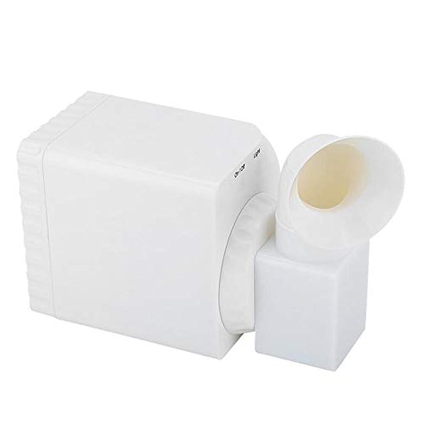 哲学的ノーブル壁紙ネイルダストコレクター、110V の強力な吸引マニキュアマシンクリーナーツール、ライト付き、パーソナル/マニキュアストア用の小型でポータブル(US Plug)