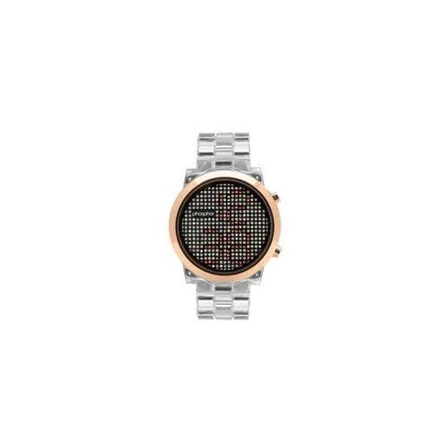 時計 Phosphor レディース MD010L Swarovski Mechanical Digital Watch [並行輸入品]