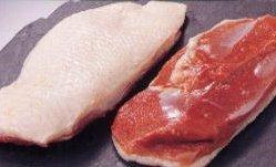 鴨ロース(むね肉)500g (1-2枚) 冷凍 ステーキカット