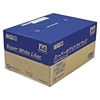 王子製紙 スーパーホワイトライラック SWLA4 500枚×10冊