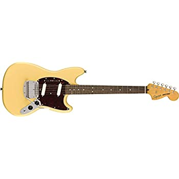 Squier by Fender エレキギター Classic Vibe '60s Mustang®, Laurel Fingerboard, Vintage White