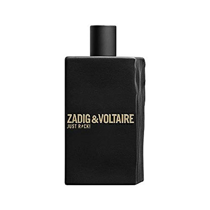 粘土殺します結果Zadig & Voltaire Just Rock! For Men Eau de Toilette 100ml 3.3oz
