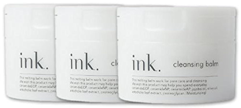 と組む相関する共和国ink.クレンジングバーム (ink.(インク)クレンジングバーム 90g 約50日分 3個)