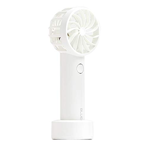 BLUEFEEL PRO 超小型ヘッド ポータブル扇風機 携帯扇風機 ブルーフィール プロ スノーホワイト 最大24時間 ...